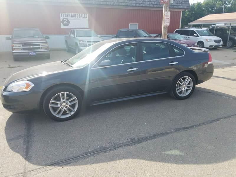 2011 Chevrolet Impala for sale at Tyser Auto Sales in Dorchester NE