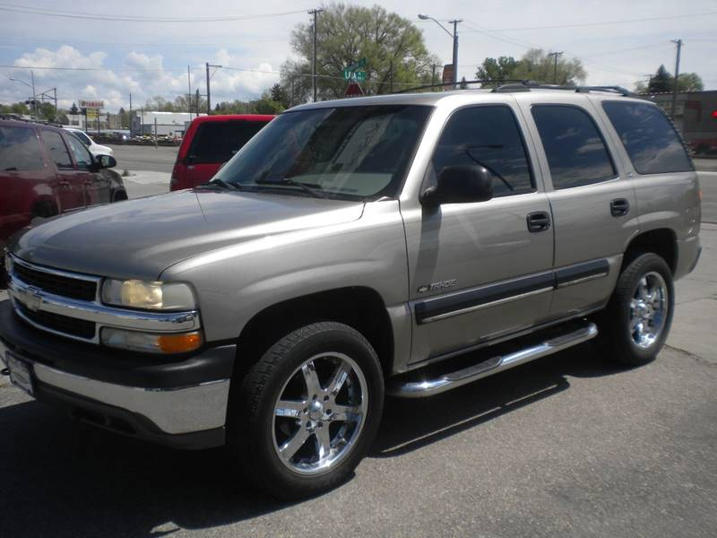 2001 Chevrolet Tahoe for sale at FINISH LINE AUTO SALES in Idaho Falls ID