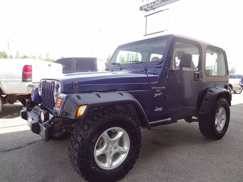 2001 Jeep Wrangler for sale in Idaho Falls, ID