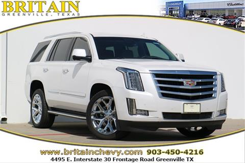 2016 Cadillac Escalade for sale in Greenville, TX
