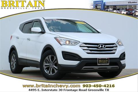 2013 Hyundai Santa Fe Sport for sale in Greenville, TX