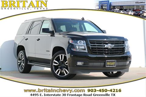 2018 Chevrolet Tahoe for sale in Greenville, TX