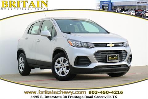 2017 Chevrolet Trax for sale in Greenville, TX