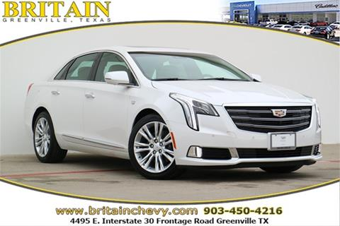 2018 Cadillac XTS for sale in Greenville, TX