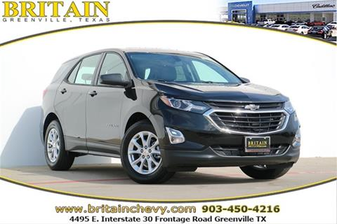 2018 Chevrolet Equinox for sale in Greenville, TX