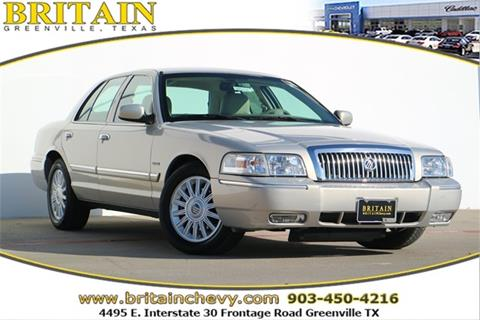 2010 Mercury Grand Marquis for sale in Greenville, TX