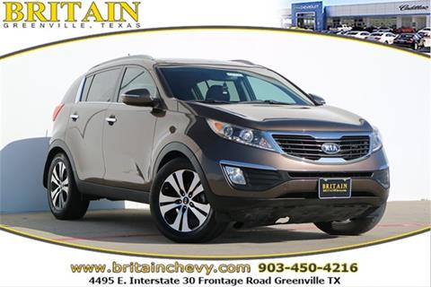 2011 Kia Sportage for sale in Greenville, TX