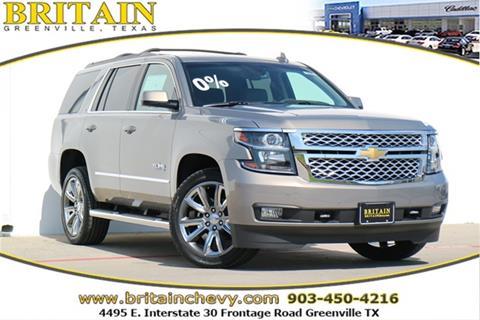 2018 Chevrolet Tahoe for sale in Greenville, TX