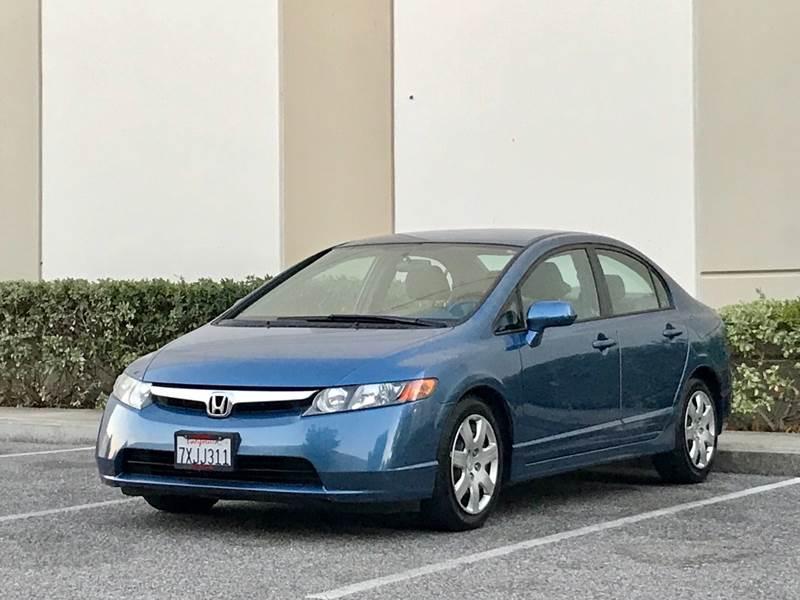 2006 Honda Civic For Sale At Carfornia In San Jose CA