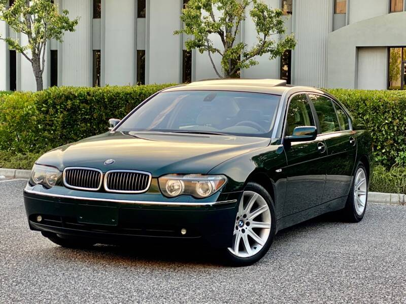 2004 BMW 7 Series for sale at Carfornia in San Jose CA