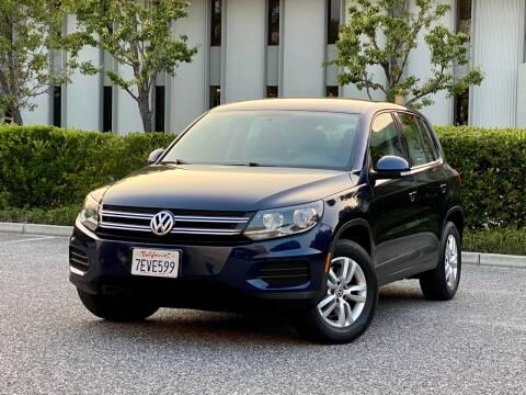 2012 Volkswagen Tiguan for sale at Carfornia in San Jose CA