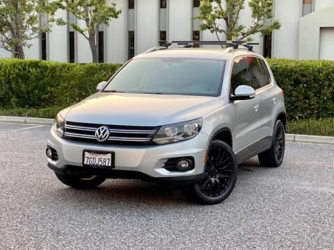 2013 Volkswagen Tiguan for sale at Carfornia in San Jose CA