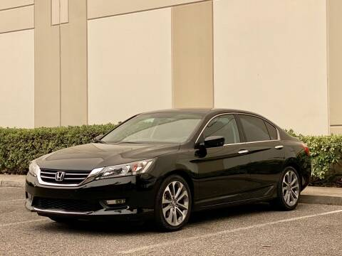 2015 Honda Accord for sale at Carfornia in San Jose CA