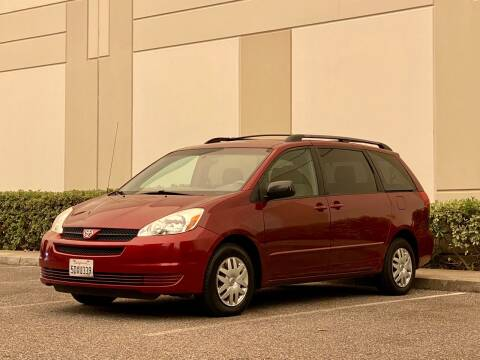 2004 Toyota Sienna for sale at Carfornia in San Jose CA