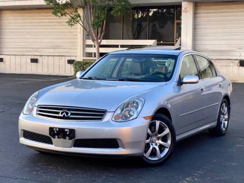 2005 Infiniti G35 for sale at Carfornia in San Jose CA
