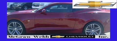 2018 Chevrolet Camaro for sale in Camden, AL