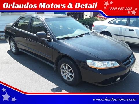 1999 Honda Accord for sale in Winston Salem, NC