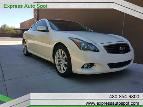 2014 Infiniti Q60 Coupe for sale in Chandler AZ
