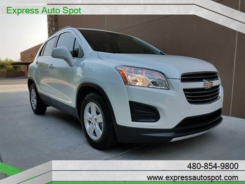 2015 Chevrolet Trax for sale in Chandler, AZ