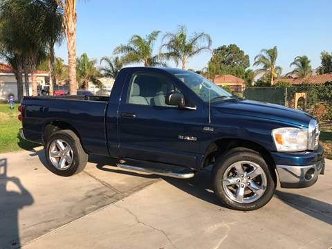 2008 Dodge Ram Pickup 1500 for sale at THE CAR GUY AUTO SALES in Bloomington CA