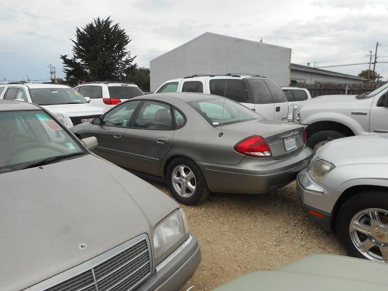 2004 FORD TAURUS SES 4DR SEDAN WDURATEC champagne smogged    test drive 888-483-7908 141950 mil