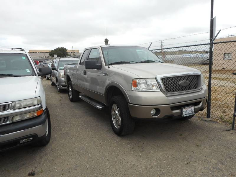 2006 FORD F-150 FX4 4DR SUPERCAB 4WD STYLESIDE 6 silver inspect and test drive 888-483-7908 1994