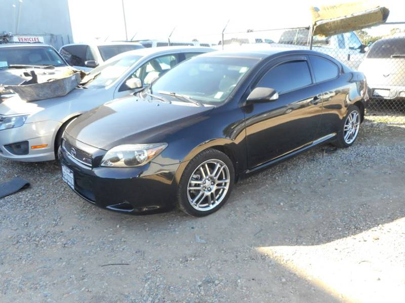 2007 SCION TC SPEC 2DR HATCHBACK 24L I4 5M black fast test drive inspection 888-483-7908 1674
