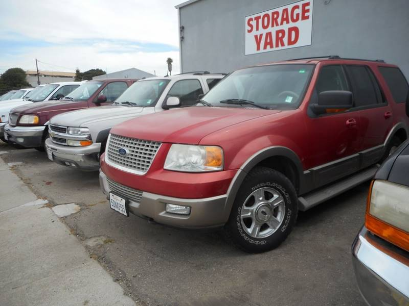 2003 FORD EXPEDITION EDDIE BAUER 4WD 4DR SUV red 160096 miles VIN 1FMFU18LX3LC28248
