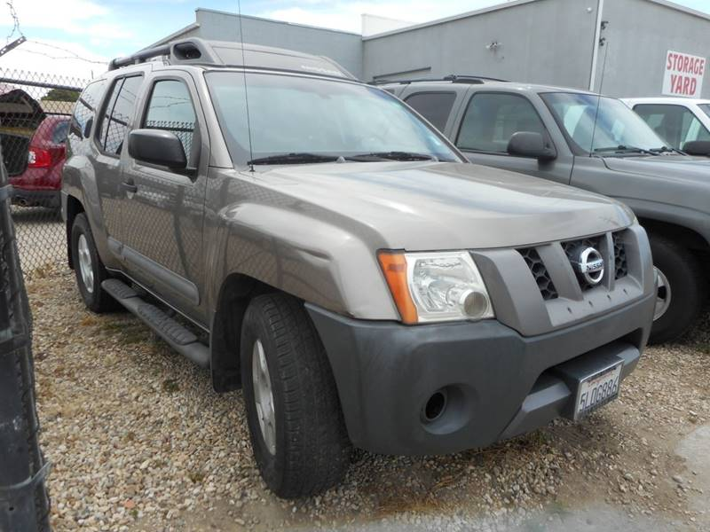 2005 NISSAN XTERRA OFF ROAD 4DR SUV tan 207237 miles VIN 5N1AN08U05C604985