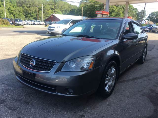 2006 Nissan Altima for sale at First Hot Line Auto Sales Inc. & Fairhaven Getty in Fairhaven MA