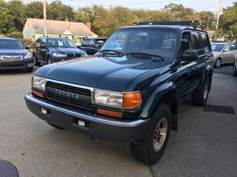 1994 Toyota Land Cruiser for sale at First Hot Line Auto Sales Inc. & Fairhaven Getty in Fairhaven MA