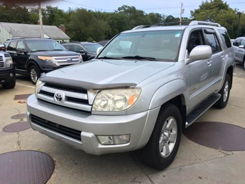 2004 Toyota 4Runner for sale at First Hot Line Auto Sales Inc. & Fairhaven Getty in Fairhaven MA