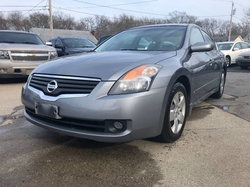 2007 Nissan Altima for sale at First Hot Line Auto Sales Inc. & Fairhaven Getty in Fairhaven MA