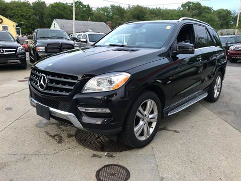 2012 Mercedes-Benz M-Class for sale at First Hot Line Auto Sales Inc. & Fairhaven Getty in Fairhaven MA