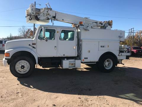 1996 International Crane/ bucket for sale at Discount Auto Sales in Wichita KS