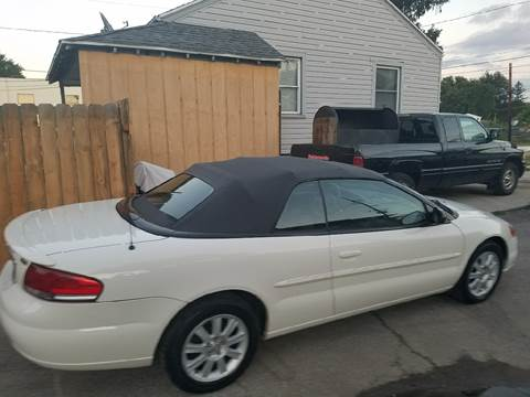 2004 Chrysler Sebring for sale at Affordable Auto Sales in Toledo OH