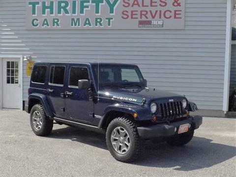 2013 Jeep Wrangler Unlimited for sale in Lewiston, ME