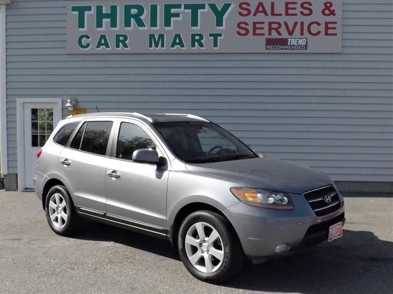 2008 hyundai santa fe limited in lewiston me thrifty car mart. Black Bedroom Furniture Sets. Home Design Ideas