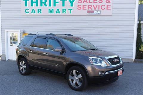 2011 GMC Acadia for sale in Lewiston, ME