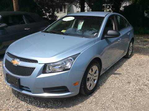 2012 Chevrolet Cruze for sale at Gaita Auto Sales in Poquoson VA