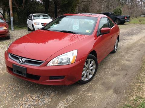2007 Honda Accord for sale at Gaita Auto Sales in Poquoson VA