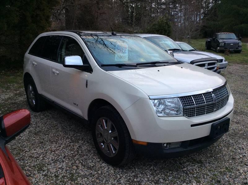2008 Lincoln MKX for sale at Gaita Auto Sales in Poquoson VA