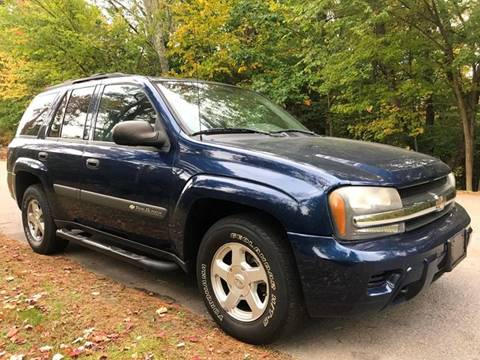 2004 Chevrolet TrailBlazer for sale in Kingston, NH