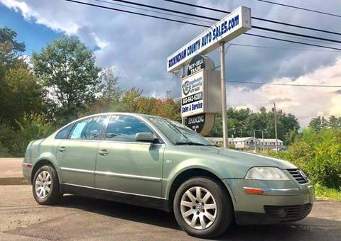 2003 Volkswagen Passat for sale in Kingston, NH