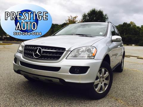2007 Mercedes-Benz M-Class for sale in Greensboro, NC