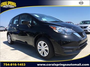 2017 Nissan Versa Note for sale in Coral Springs, FL