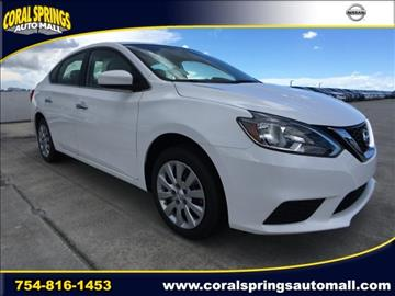 2017 Nissan Sentra for sale in Coral Springs, FL