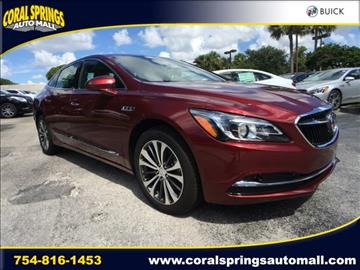 2017 Buick LaCrosse for sale in Coral Springs, FL