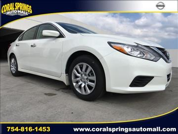 2017 Nissan Altima for sale in Coral Springs, FL