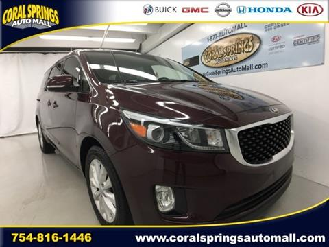 2015 Kia Sedona for sale in Coral Springs FL